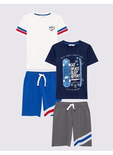 Marks & Spencer Şort Mavi